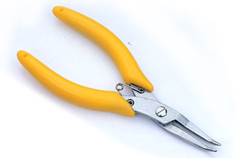 5 '' Bent Nose Pliers SA-705A / SA-705TA (with Serrated Jaws)